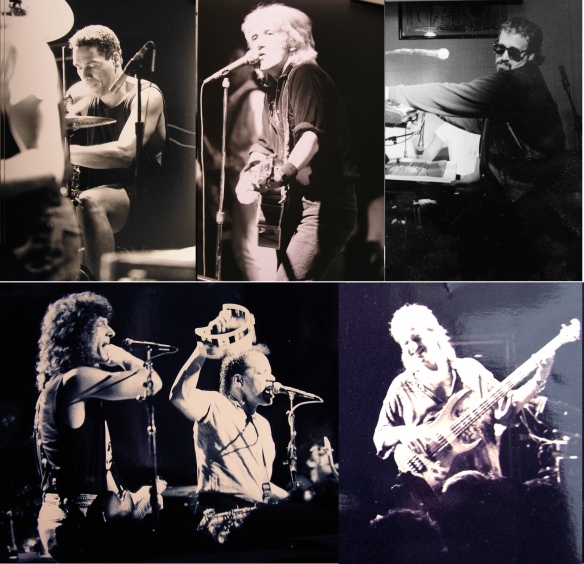 The Beaver Brown Band in action, circa 1990 - photos © Sydney Schuster