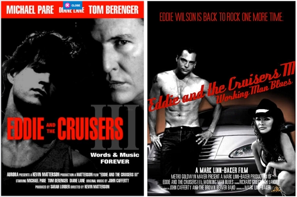 eddie and the cruisers iii posters