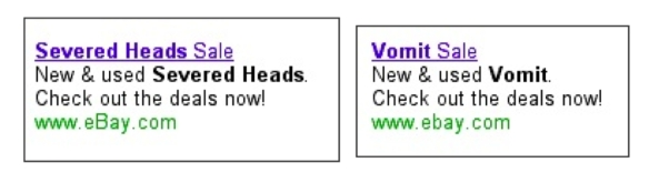 eBay Adwords