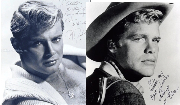 Doug McClure and Troy Donahue. You figure it out.
