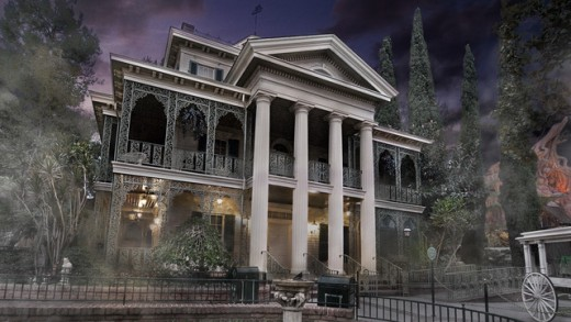 The Haunted Mansion at Disneyland
