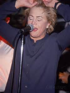 Kathleen Turner rocks out.