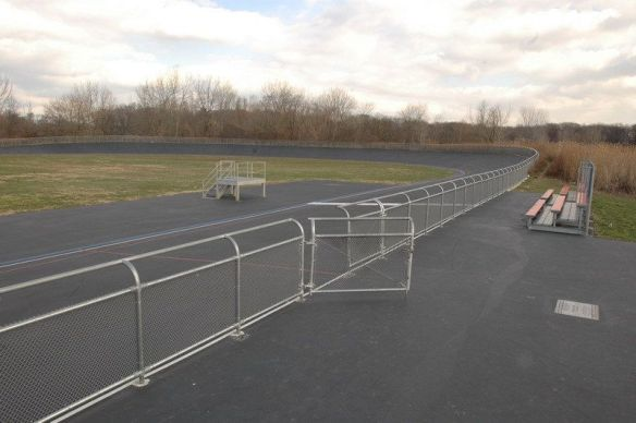 Kissena Velodrome in 2005. Photo © City of NY