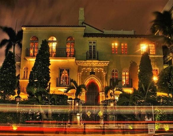 Versace mansion. Photo © Night Fine Art Miami Beach